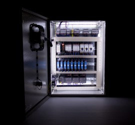 Inside Typical Control Cabinet