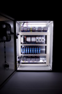 Internally Illuminated Cabinet, for Safety and Convenience in the Darkest Plant Room